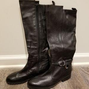 Tesori black boots size 7m